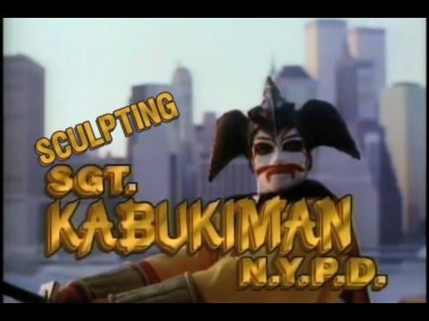 Sculpting Sgt. Kabukiman Mask