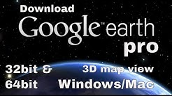 DOWNLOAD GOOGLE EARTH PRO 2018 IN YOUR PC for free