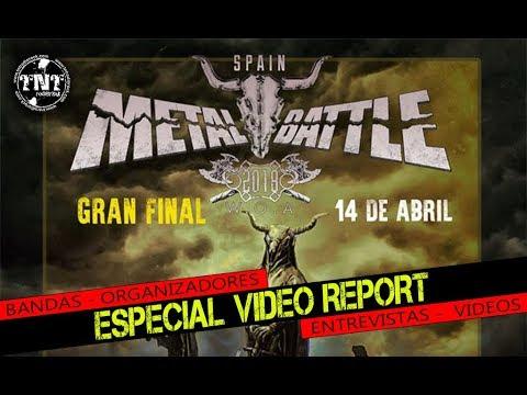 W O A    METAL BATTLE SPAIN   Final Report TNT RADIO