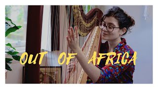 Out of Africa - Main Theme - John Barry - Harp Cover -Sam MacAdam