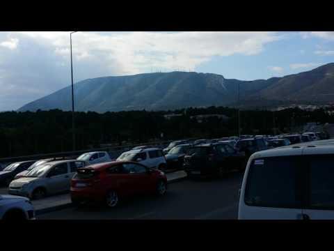 Free Parking Near Athens (Kantza Metro Station, Greece)