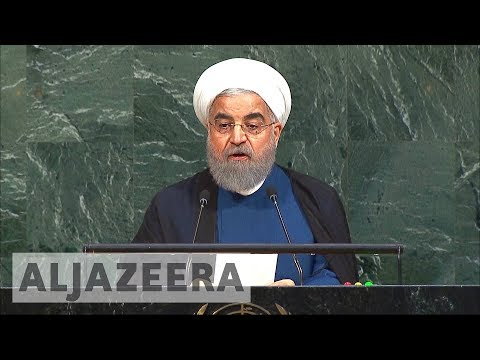 Rouhani addresses nuclear deal in UNGA speech