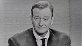 What's My Line? - John Wayne; Joey Bishop [panel] (Nov 13, 1960)