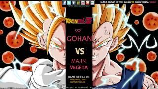 Dragon Ball Z - Super Saiyan 2 Teen Gohan VS Majin Vegeta Theme (The Enigma TNG)