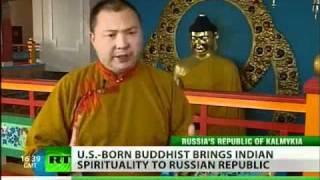 U.S. born lama brings buddhist wisdom to Russia