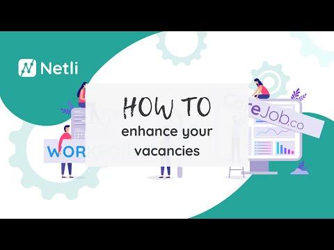 How To Enhance Your Vacancies | Netli CareJob.co