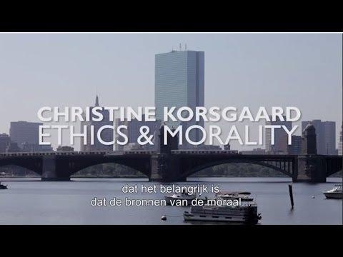 Christine Korsgaard - Ethics & Morality