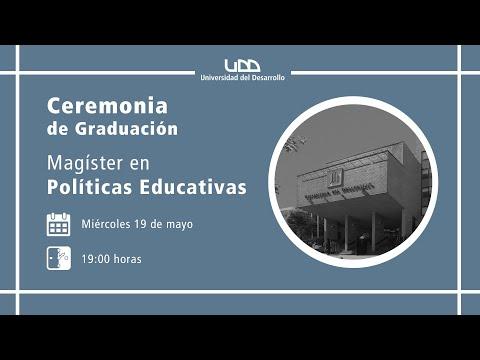 Ceremonia de Graduación Magíster en Políticas Educativas - Sede Concepción