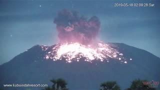 Mount Agung eruption 05/17/19