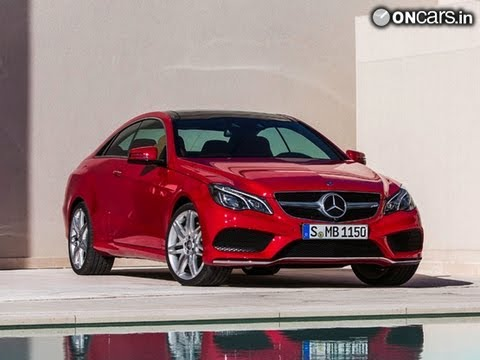 2014 Mercedes Benz E-Class Coupe & Cabriolet unveiled