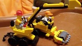 Как сделать из конструктора лего экскаватор - конструктор лего - игрушки лего