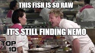 Top 10 Gordon Ramsay Insults