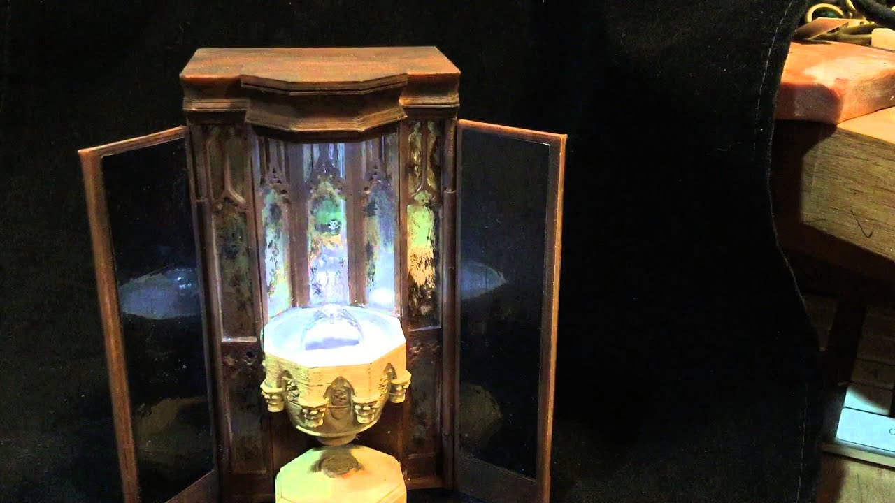 Harry Potter Pensieve Custom Engagement Ring Box YouTube