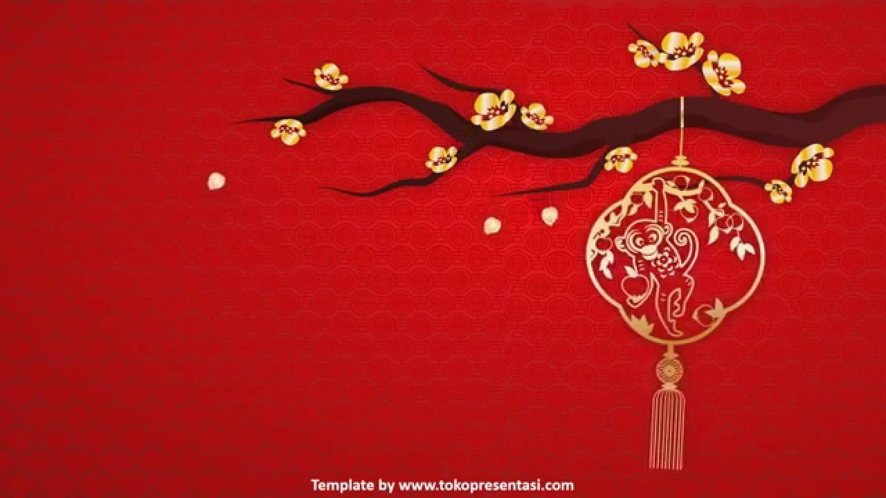 tokopresentasicom ab 004 free powerpoint template chinese new year 2016 youtube