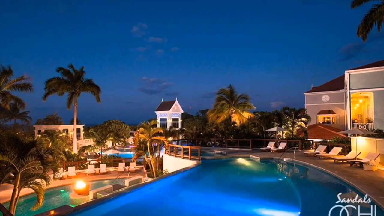 Sandals Ochi Beach Resort Youtube