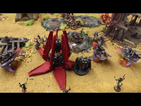 Commissar Warwick Battle Report: 1500 pts. (Space Marines vs  Harlequins)