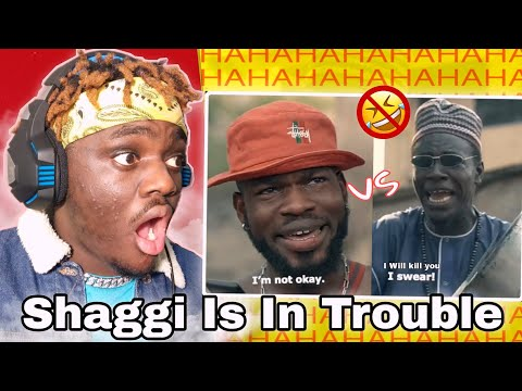 BRODA SHAGGI IN TROUBLE WITH HAUSA MAN | Bobo Derry Reaction, Come Watch With Me