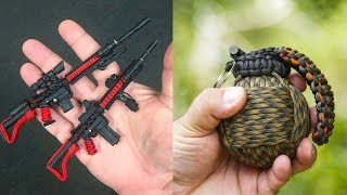 5 DANGEROUS MINI WEAPONS AND SURVIVAL GADGETS ▶ Leagally You Can Use