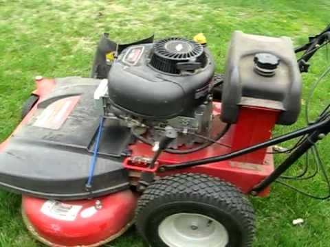 Craftsmen 33 Quot Mower Review Youtube