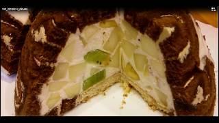 Королевский торт без выпечки