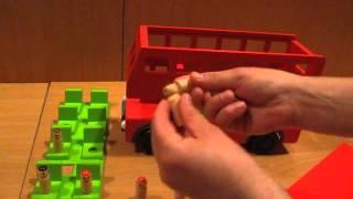Видео обзор детская игрушка - London Bus Двухэтажный деревянный автобус (kidtoy.in.ua)(Заказать деревянные игрушки: https://vk.com/album-47667519_167934240 Деревянный автобус,