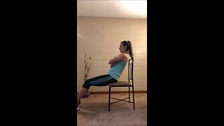 Seated Core Workout for Seniors