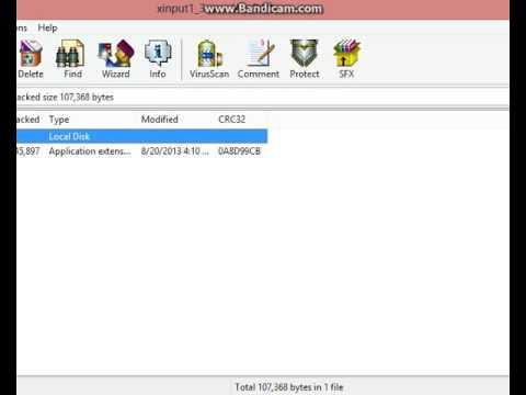 xinput1 3.dll pour windows 8.1 gratuit