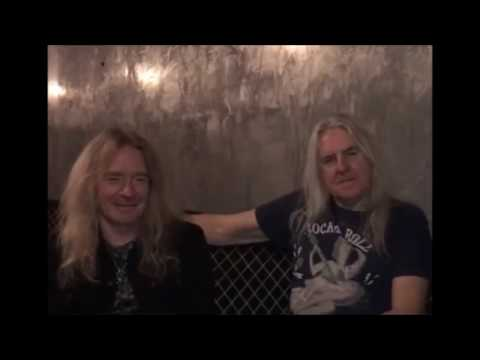 New SAXON album in Jan 2018..?? Interview with Biff Byford and Doug Scarratt w/ Neil Turbin