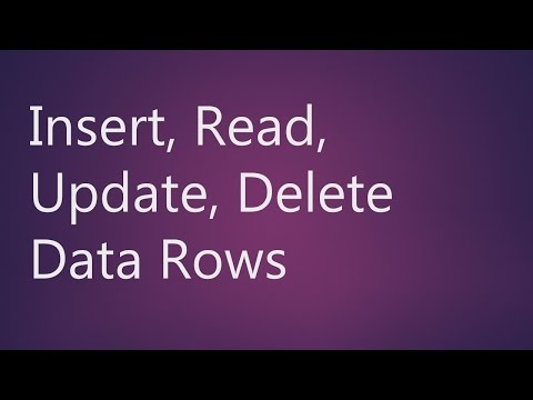 MySQL Workbench Insert, Read, Update, Delete Data Rows