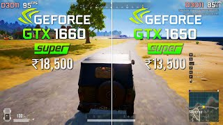 GTX 1660 Super vs 1650 Super! Which is best for which budget?