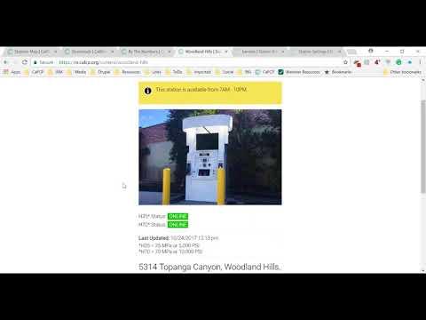 Hydrogen Station Network Update Webinar - October 24, 2017