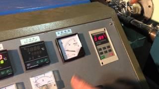 Unité de fabrication des tuyaux en PEHD