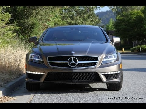 2013 / 2014 Mercedes Benz CLS63 AMG Drive Review and Road Test
