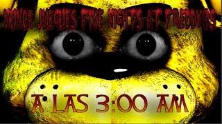 NUNCA JUEGUES FIVE NIGHTS AT FREDDY'S A LAS 3:00 AM | Creepypastas del mes de Octubre | 2016
