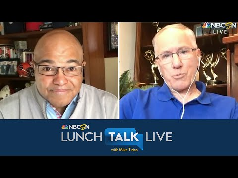 Doc Emrick Talks NHL's Return, Stanley Cup Without Handshakes   Lunch Talk Live   NBC Sports
