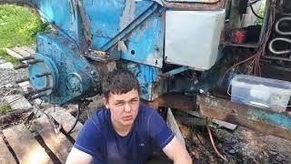 Приводим в порядок кабину трактора Т-40АМ