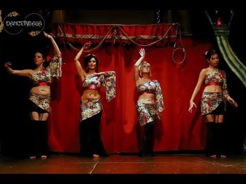 Fluidance Troupe - Hafla Navidad Dancetribalia 2018