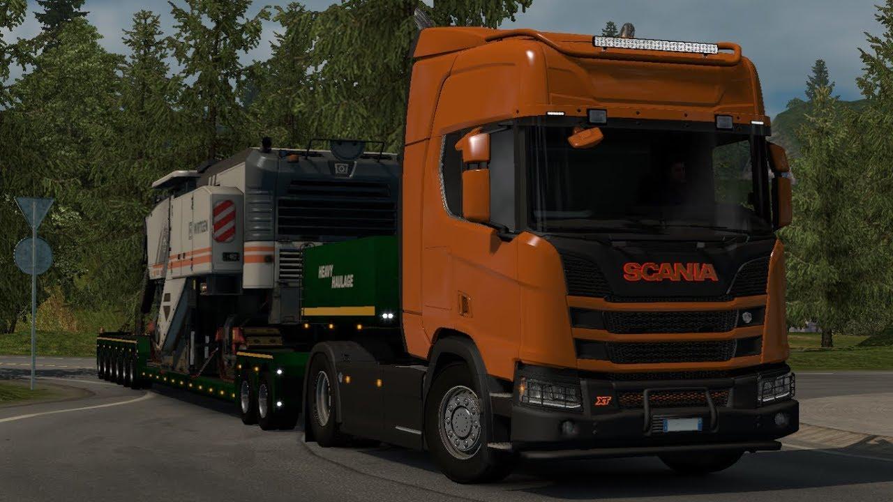 [1 33] Euro Truck Simulator 2 | Accessories for Scania R&S NextGen | Mods