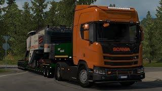 [1.33] Euro Truck Simulator 2 | Accessories for Scania R&S NextGen | Mods