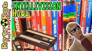 Huge Intellivision Retro Game Haul: Plimpin' It!