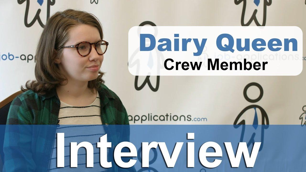 Dairy Queen Crew Member - Job Description & Salary