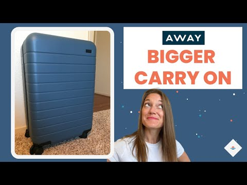 Away Bigger Carry-On Review   $20 Off Coupon