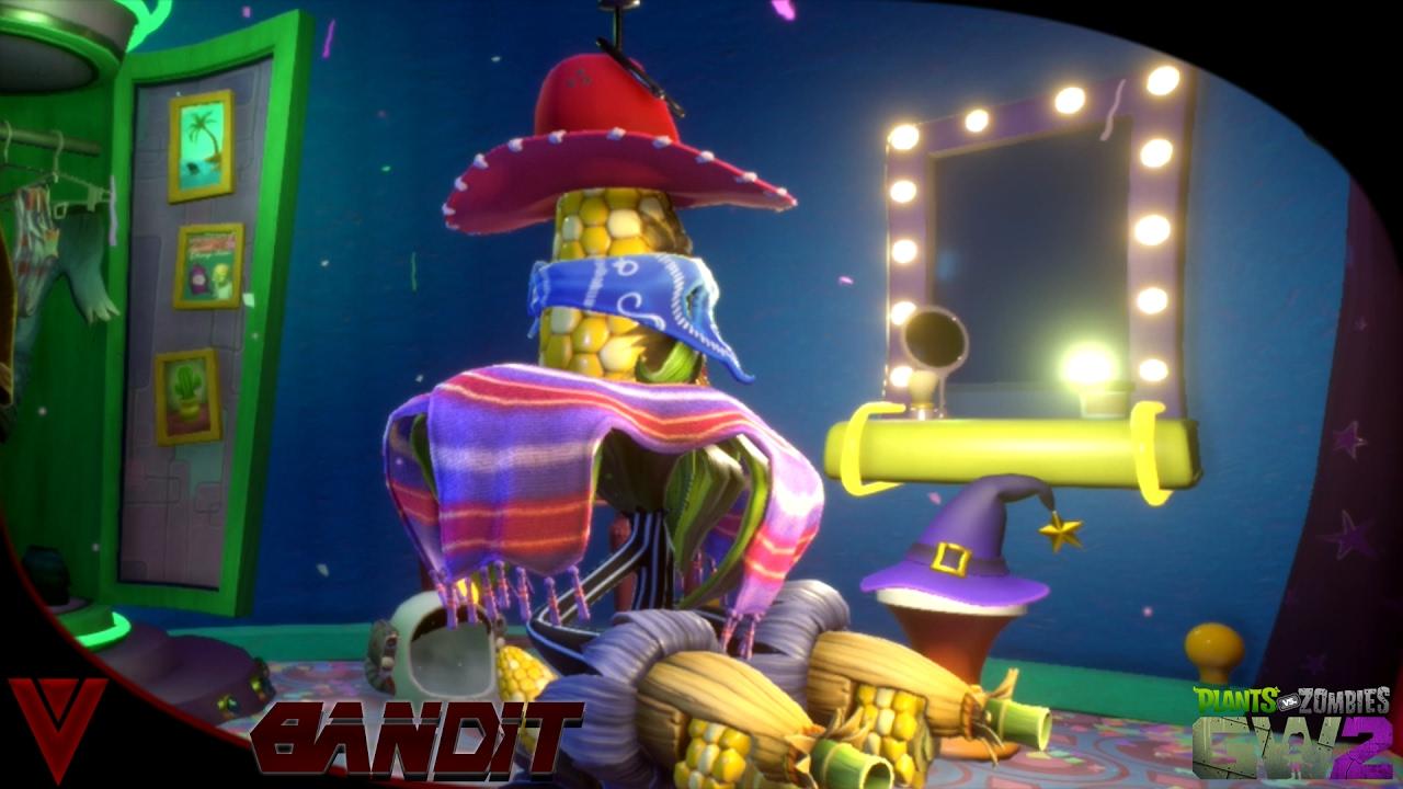 Plants Vs Zombies Garden Warfare 2 Sets   Bandit Set   Mob Cob