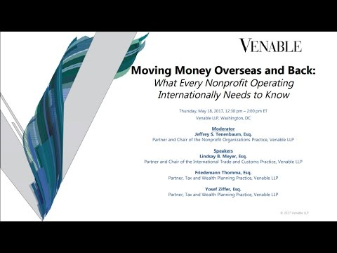 Moving Money Overseas And Back What Every Nonprofit Operating Internationally Needs To Know