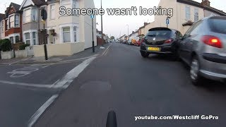 Bad Drivers Cycling Compilation #111 - Boys Toys - Car Crash - Lane Bully - Impatience All Round