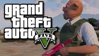 GTA 5 Online Multiplayer Funny Gameplay Moments! #9 (GTA V Cargobob Fun, Planes, and More!)
