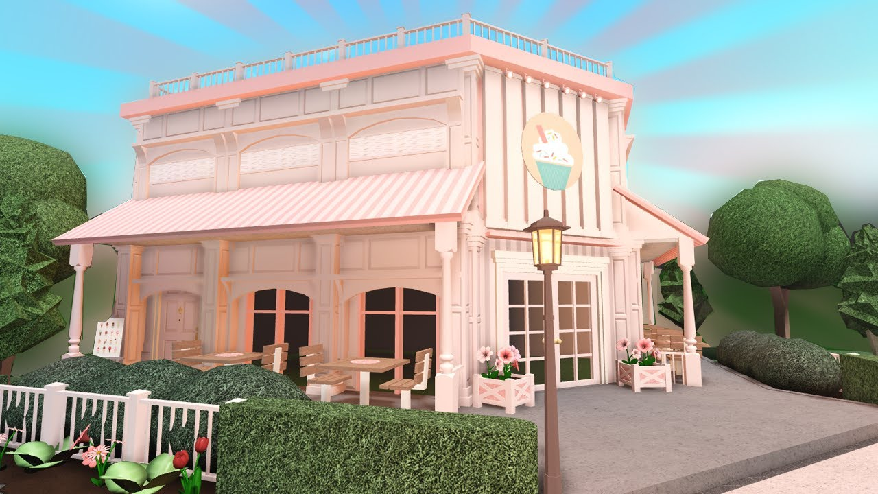 Bloxburg Cafe