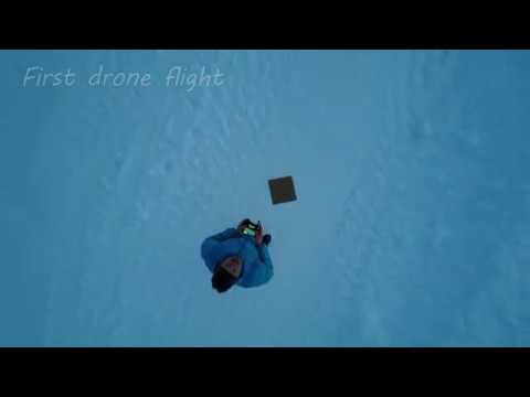 First drone flight in Nuuk, Greenland