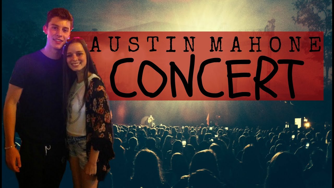 I met shawn mendes austin mahone concert experience youtube m4hsunfo
