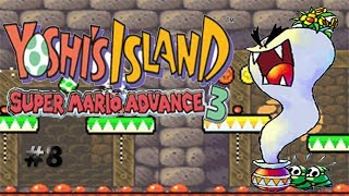 El fantasma del florero/Yoshi´s Island: Super Mario Advance 3 #8
